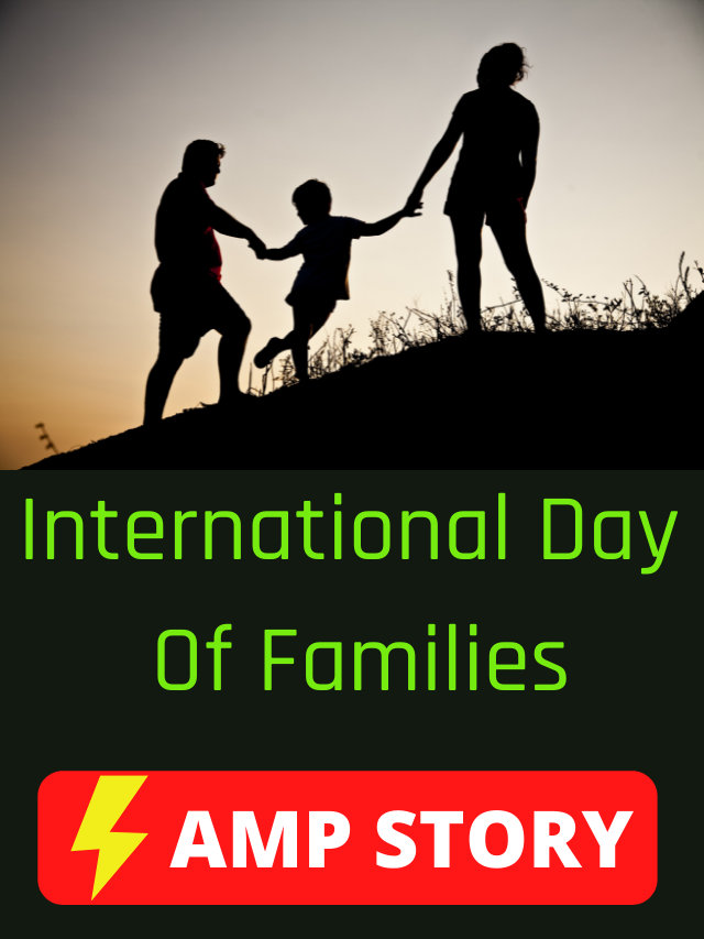 AMP Story For International Day of Families